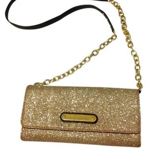 NWB!  Juicy Couture Gold Chain Wallet